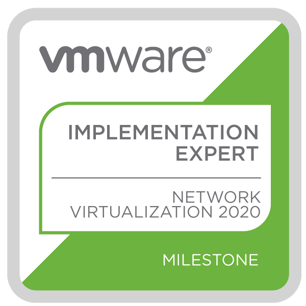 VMware Certified Implementation Expert – Network Virtualization